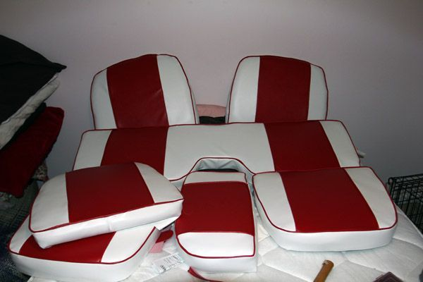 Making new boat seat cushions Page: 1 - iboats Boating Forums | 467948