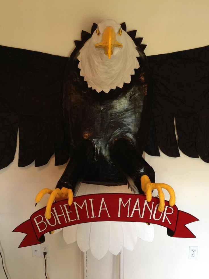 Eagle For Marching Band Cardboard And Paper Mache