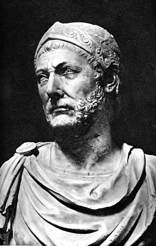 Hannibal Barca, son of Hamilcar Barca. Born 247 BC, Carthage. Died 183 BC Libyssa
