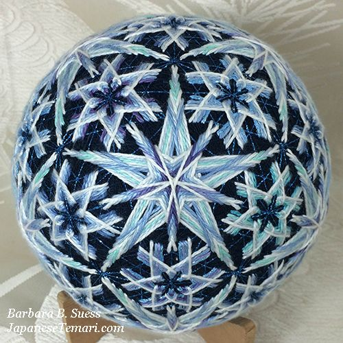 Japanese Temari: A new design for winter