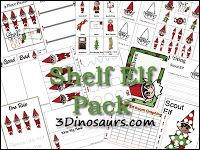 Awesome Elf on the Shelf packets!
