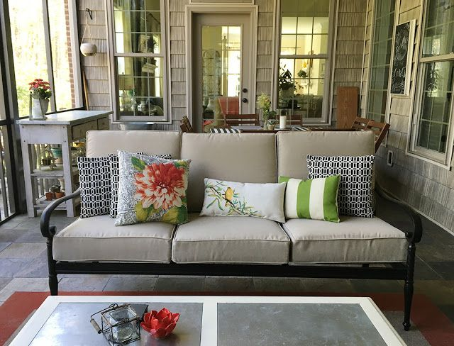 Less-Than-Perfect Life of Bliss: My Favorite Outdoor Replacement Cushions