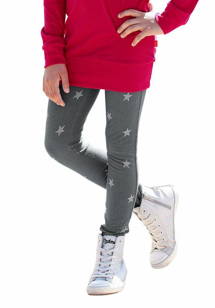 Produkttyp , Jeggings, |Qualitätshinweise , Hautfreundlich Schadstoffgeprüft, |Materialzusammensetzung , Obermaterial: 60% Baumwolle, 35% Polyester, 5% Elasthan, |Material , Schwere Jerseyware, |Farbe , grau, |Passform , Sehr schmale Form, |Größenhinweis , Fällt eng aus, bitte eine Größe größer bestellen., |Beinform , eng, |Beinlänge , lang, |Leibhöhe , normal, |Bund + Verschluss , Rundum-Gummi...
