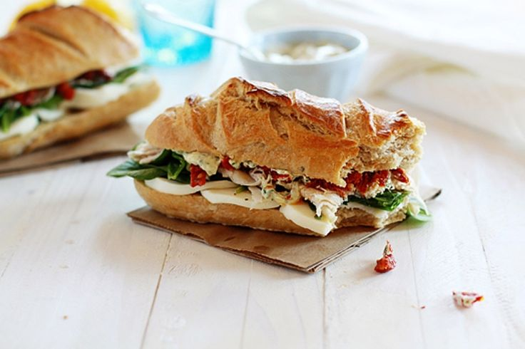 Ingredients     3-4 cucumbers, sliced   1 cup mayo   1 (8 ounce) package cream cheese   1 packet dry ranch seasoning mix   1 pound deli turkey   2-3 baguettes, sliced in half horizontally          Instructions       Combine mayo, cream cheese and ranch