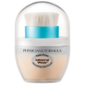 Physicians Formula Mineral Wear Talc-Free Mineral Airbrushing Loose Powder SPF 30, $10.99; drugstore.com. SO SO GOOD> buy it