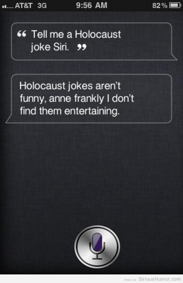 Wrong... funny, but wrong