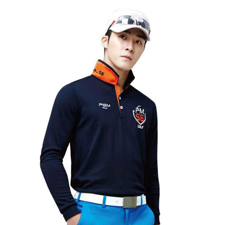 PGM 2017 Golf fit polomens men golf polo shirts quick dry long sleeve golf tshirts ropa de golf clothing men table tennis shirt