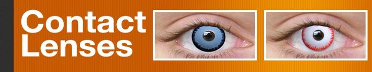 Contact Lenses - Spooky Contact Lenses - Halloween Contacts - Special Effects Contact Lenses