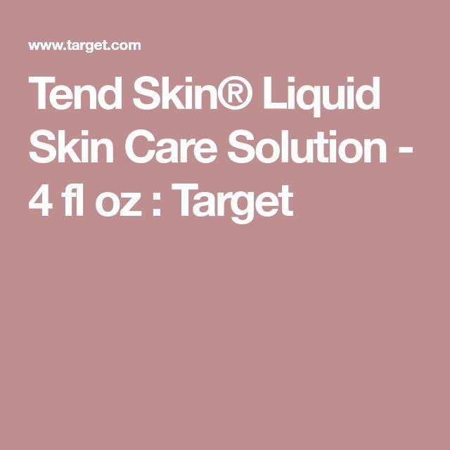 Tend Skin® Liquid Skin Care Solution - 4 fl oz : Target