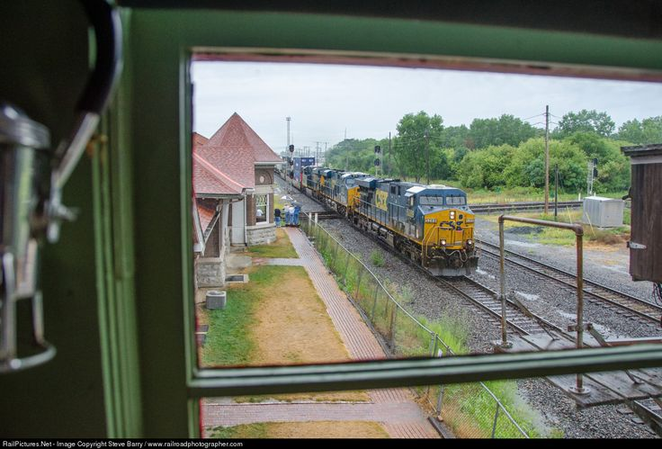 RailPictures.Net Photo: CSXT 5289 CSX Transportation (CSXT) GE ES44DC at Marion, Ohio by Steve Barry / www.railroadphotographer.com