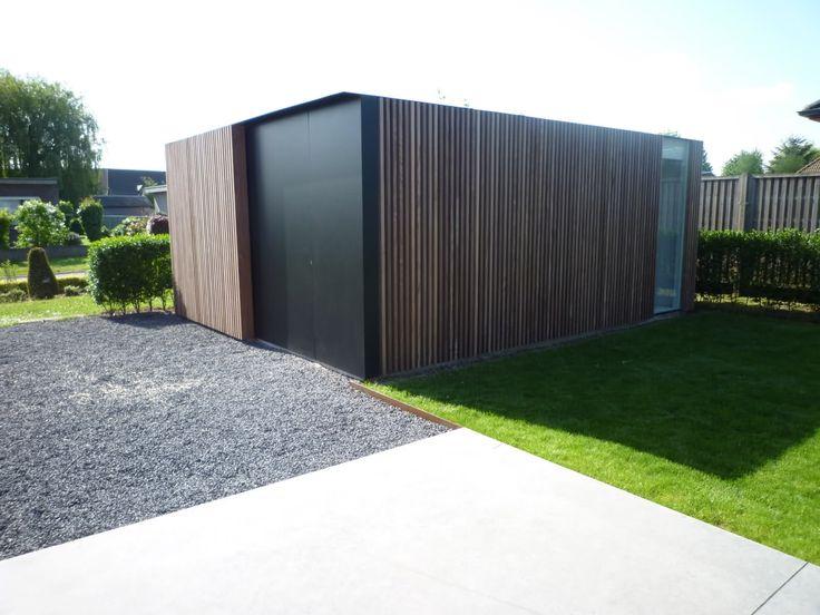 Mooi tuinhuis - op bouwforum en die mens heeft dat zelf gemaakt!