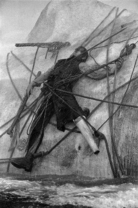 Captain Ahab, Moby Dick 1954. Erich Lessing