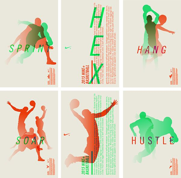 Event Illustrations for a Nike+ Technology that came out in 2013.