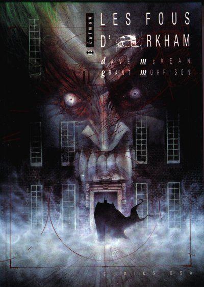 Couverture de Batman (Comics USA) - Les fous d'Arkham