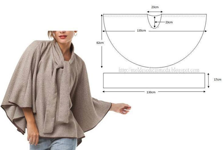 DIY poncho - I'm thinking a Hunter Green Poncho with a rich purple beading around the edges