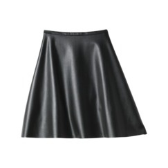 Kirna Zabete for Target® Faux Leather Skirt in Black $39.99