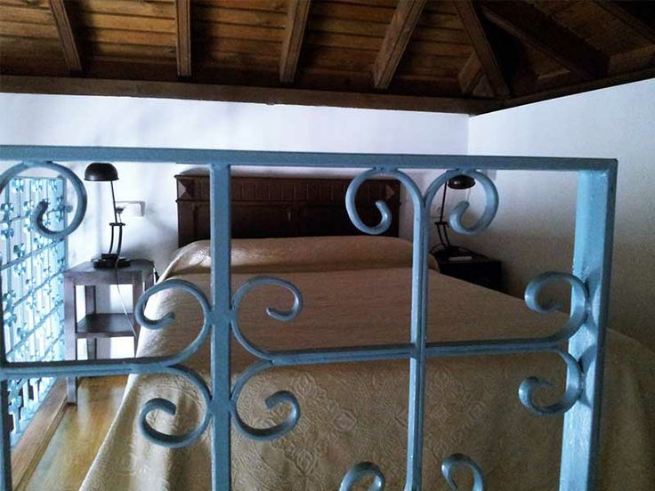 Habitación buardilla Hotel con Encanto en Carmona, Posada San Fernando