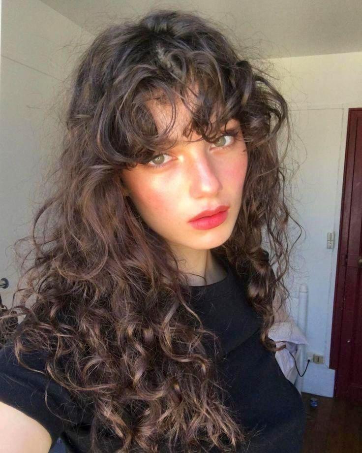 Women Hairstyles Braids Ideas Curly Bangs Hairstyles Womenhairstylesbraidsideas Hairstylesfo Hair Styles Short Hair Styles Hairstyles For Receding Hairline