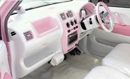 so close Pink Car's Interior |5.13