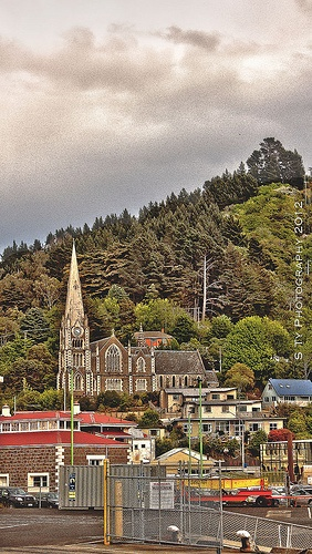 Iona Church at Port Chalmers , click to see more spectacular places