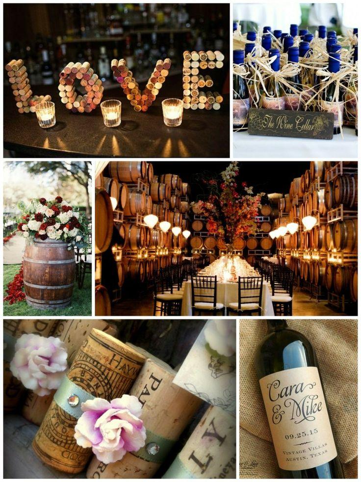 Per gli amanti del vino... Buon Lunedì  https://www.facebook.com/SilviaForte.Eventi/ #temamatrimonio #winewedding #scenografiamatrimonio #sposi #nozze #weddingplanner #senigallia #marche