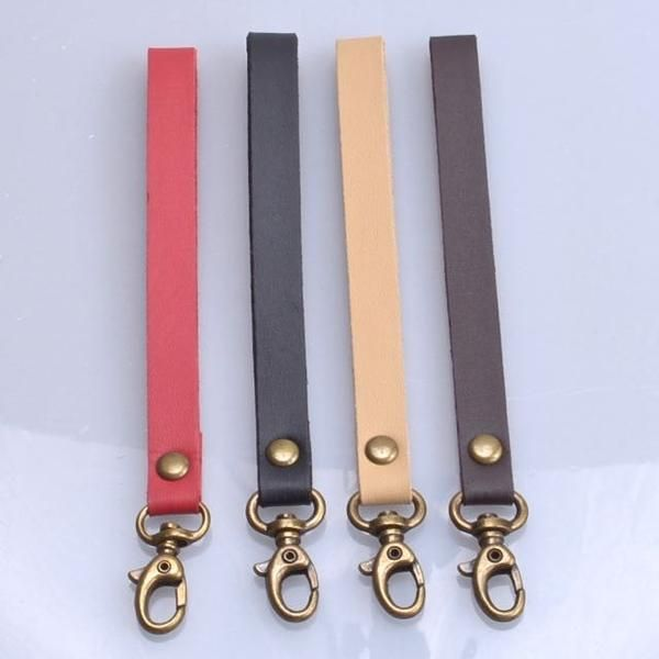 Leather Wrist Strap for Bag, Pouch or Purse