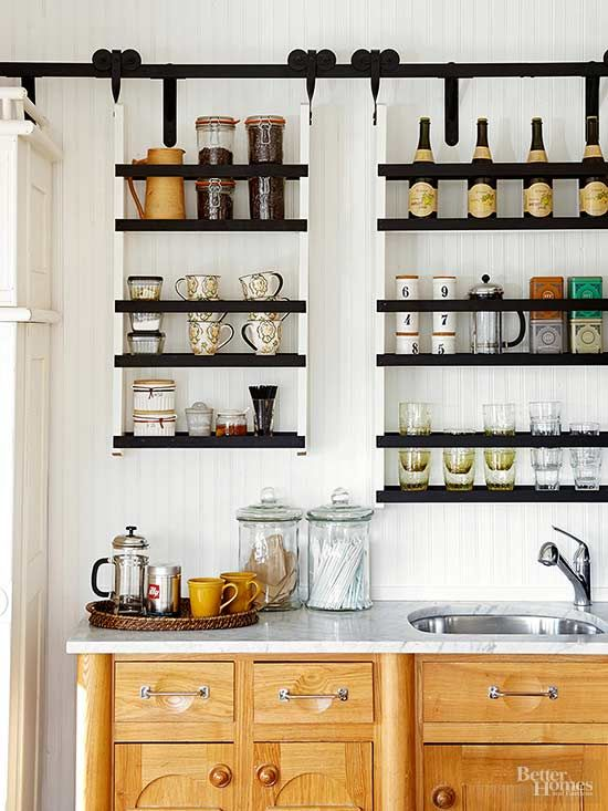 Coffee Station Ideas Delightful Kitchen Designs