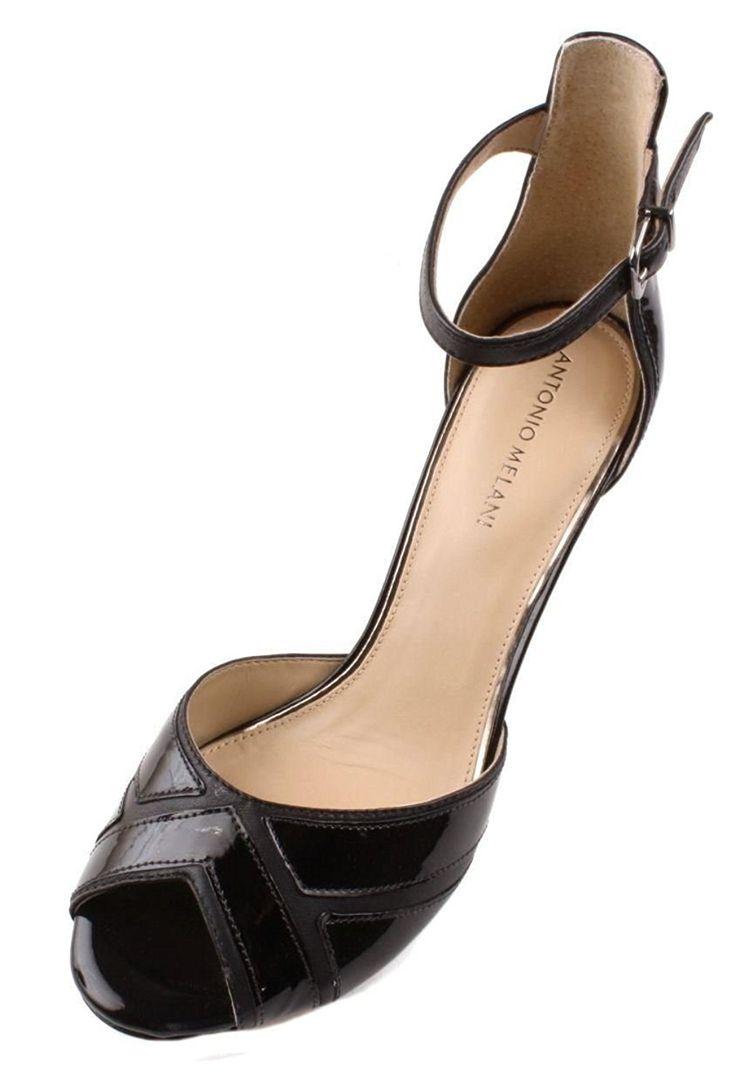 Black evening sandals flat - Antonio Melani Halie Womens Black Dress Sandals You Can Find More Details By Visiting