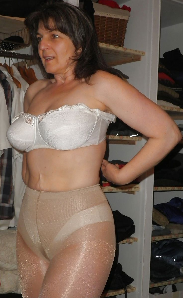 Women Video Mature Pantyhose Collant Pantyhose 53