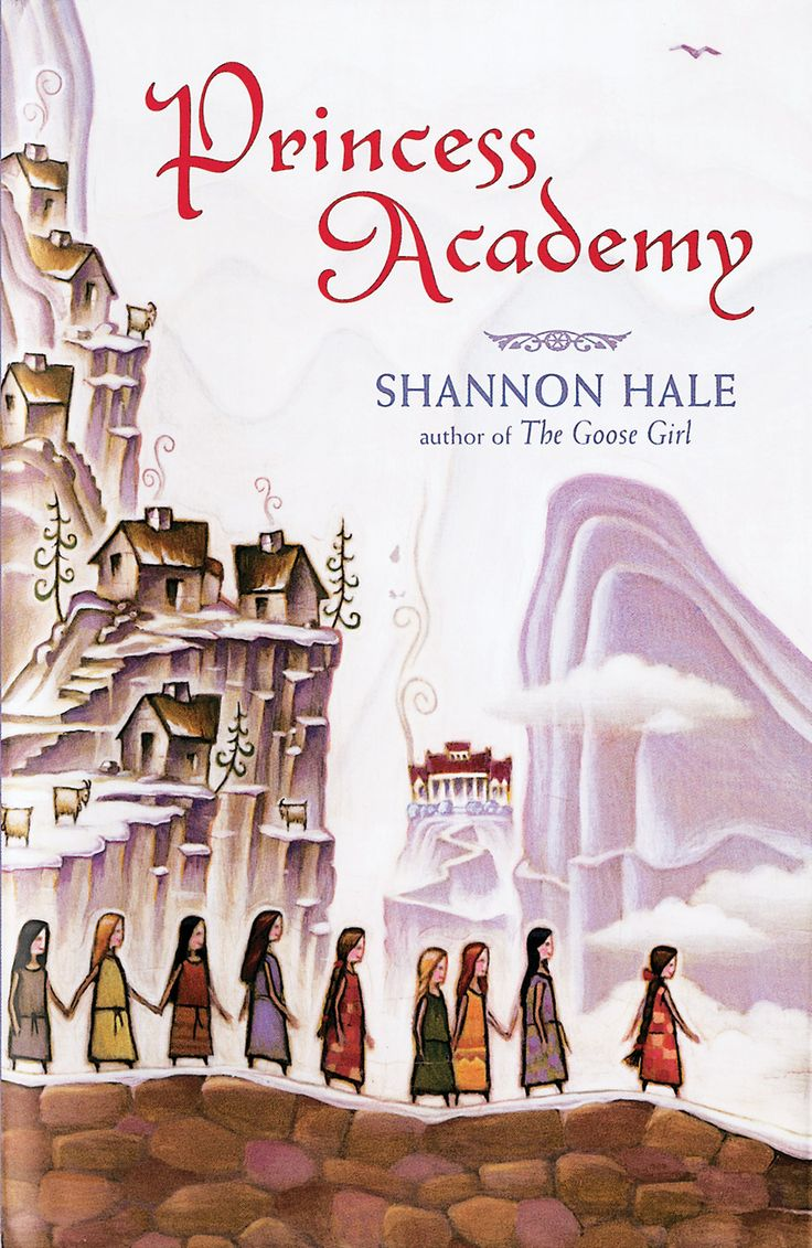 'Princess Academy' book cover. Illustration by ©Tim Zeltner. Represented by i2i Art Inc. #i2iart