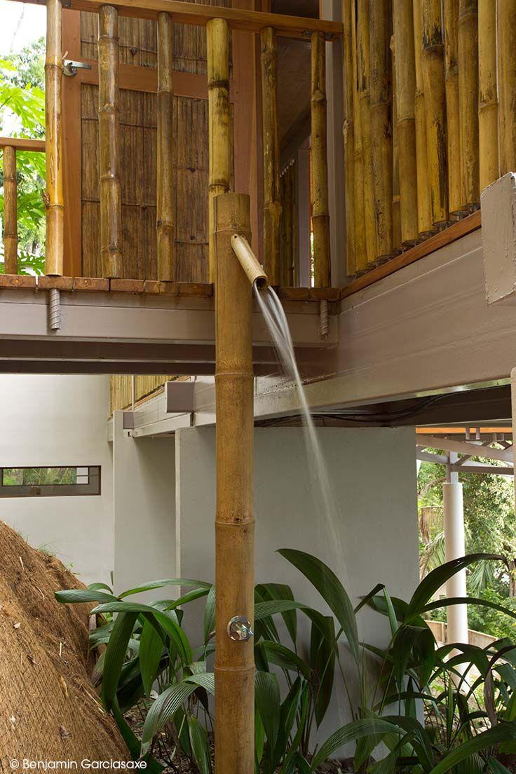 le bambou est un matriau qui donnera un ct exotique votre salle de bain