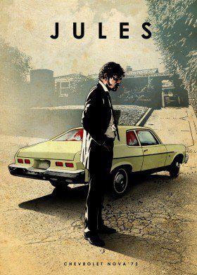 jules chevrolet nova samuel jackson car legends legend pulp fiction