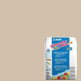 Mapei Ultracolor Plus Fa 25-Lb Bone Sanded/Unsanded Powder Grout 6Bu00