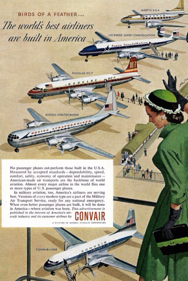 Convair-Liner: Among Gigants  | The Dreamy Dodo