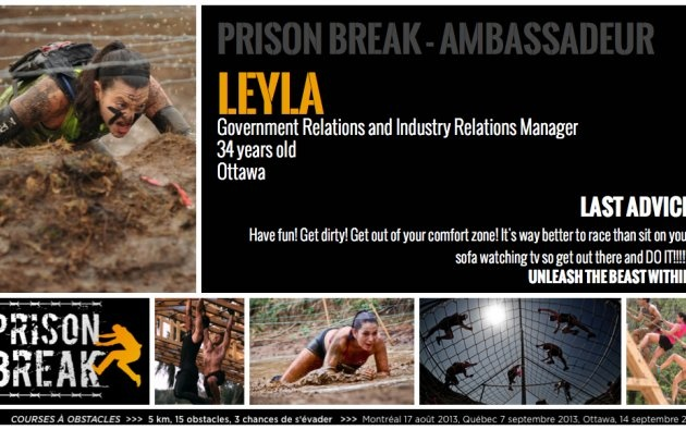 Leyla from Ottawa   Prison Break
