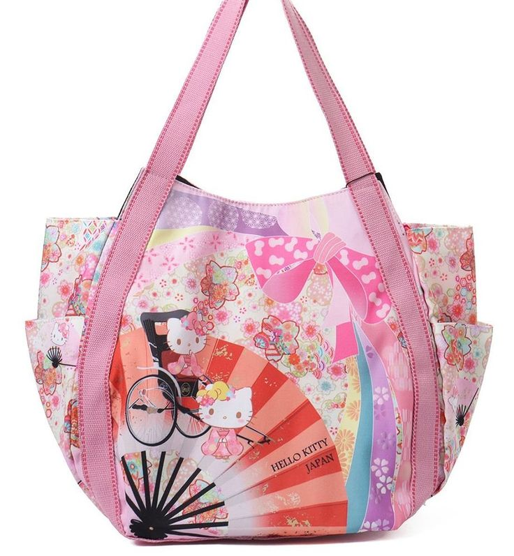 Hello Kitty limited version tote bag Mothers tote bag pink from Japan Sanrio