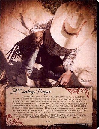 A Cowboys Prayer