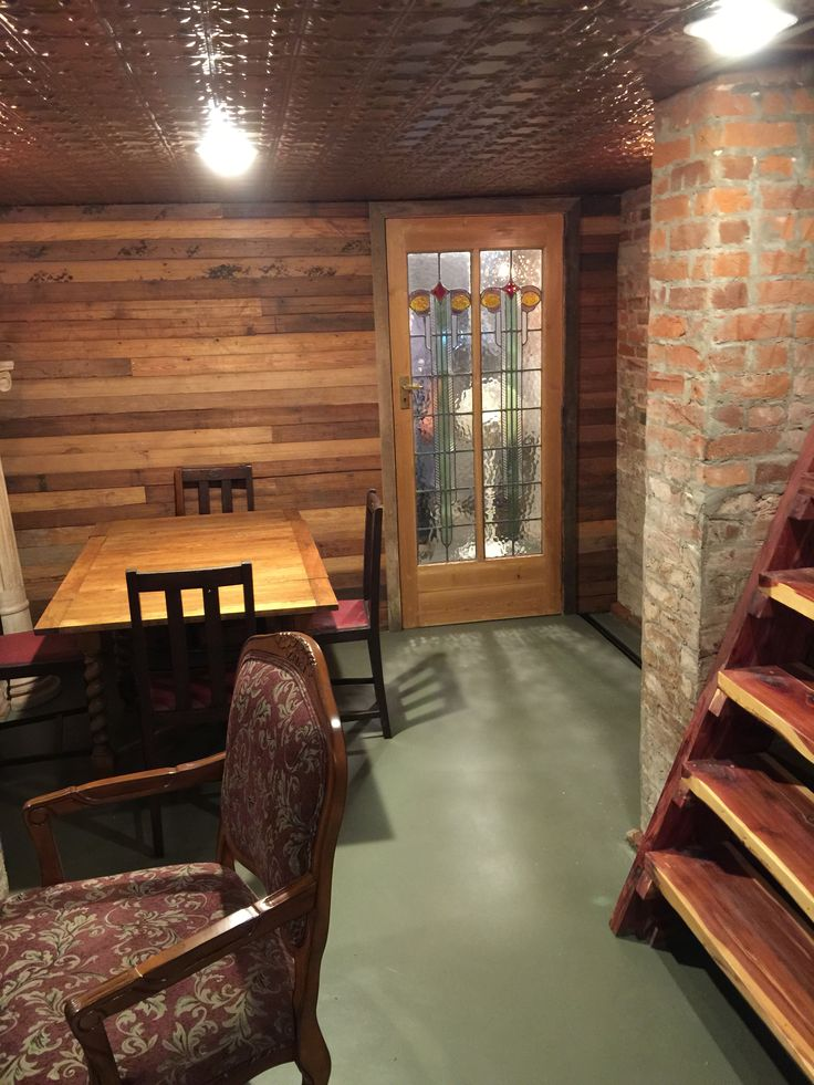After All Of The Research, We Finally Renovated The Basement Of Our 120 Yr  Old