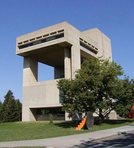 I.M. Pei, Architect - Herbert F. Johnson Museum of Art at Cornell University
