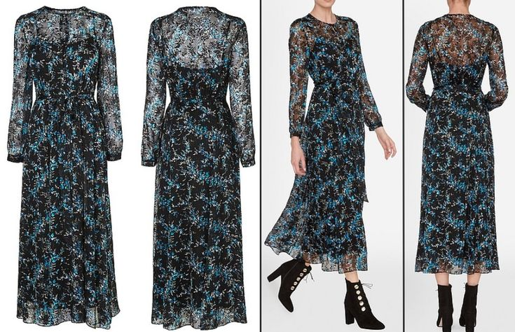 The Duchess wore LK Bennet's Cersei Evergreen dress (£375, roughly $470 at today's exchange rates) for the tea party.