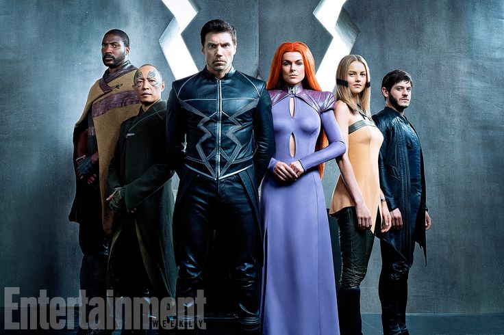 First look: Marvel's Inhumans come to life — finally - 05/04/2017 Photo by Michael Muller/Marvel