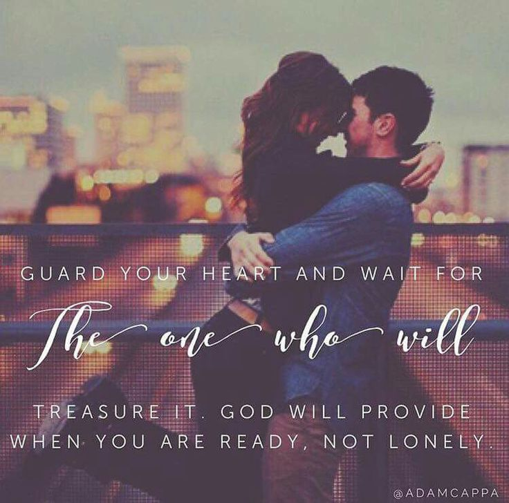 Absolutely...nothing else I want more than to patiently wait on the right one without trying to go against God's will again!