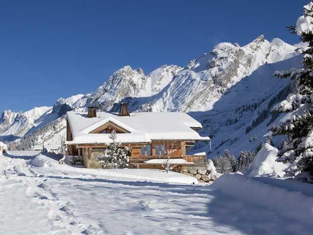 Chalet La Clusaz, Haute Savoie #vacances #ski #montagne
