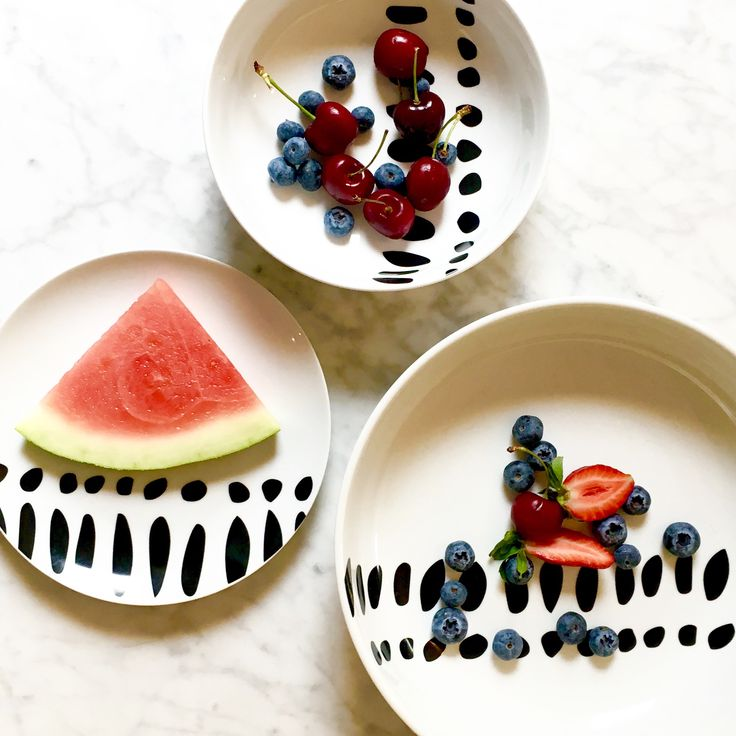 "Bzyoo ""Soar"" design on black & white. #bzyoo #design #style #decor #black #white #fruit #watermelon"
