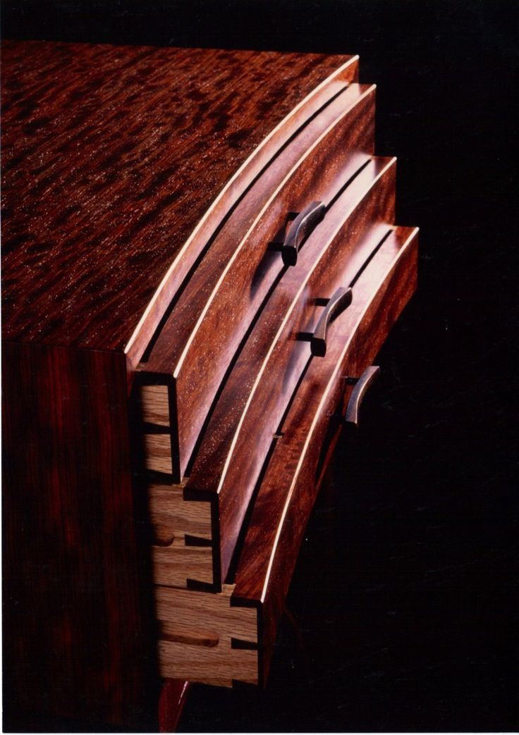 Wooden Drawer pulls no metal! Woodworking Furniture #woodwork #fine #furniture