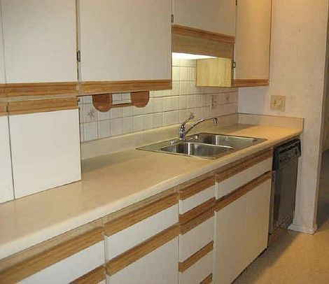 9 best images about diy kitchen cabinet makeover on for Can you paint formica kitchen cabinets