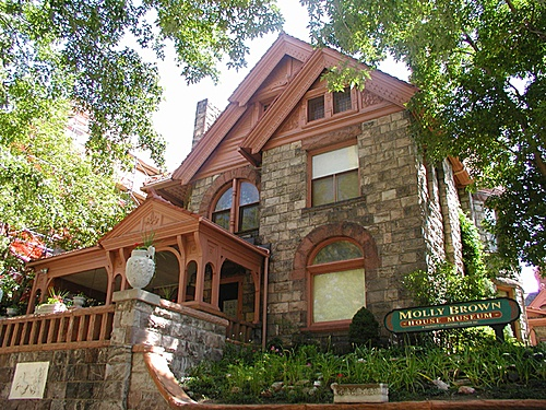 Molly Brown House, Denver - free admission/tour on Nov. 6, 2013 (SCFD free day)