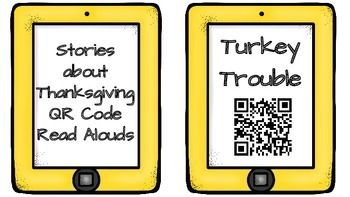 The perfect listening center for November!Download and print a sheet of QR codes for your classroom listening library! Students simply scan the codes with any QR App to watch books read aloud. All QR codes are links to YouTube videos via the website SafeShare.TV.