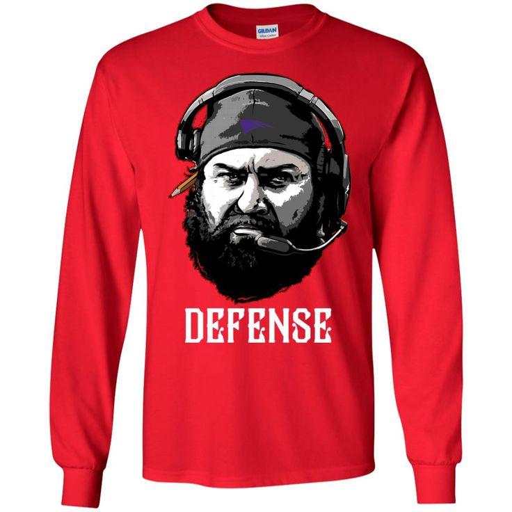 matt patricia defense t-shirt G240 Gildan LS Ultra Cotton T-Shirt