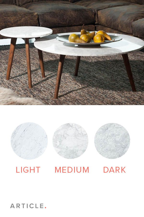 Marble creates a clean, compact look, perfect for small spaces.